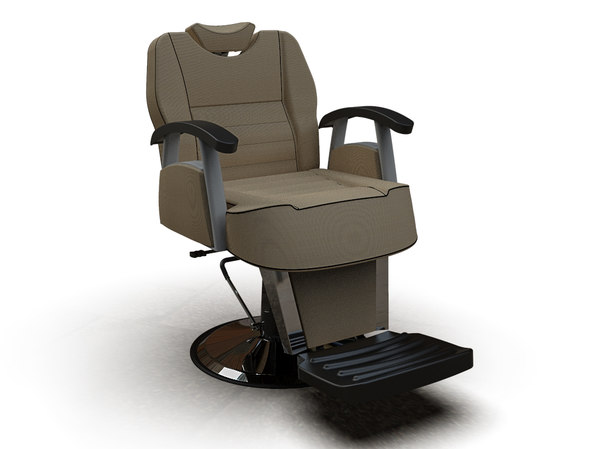 3D man barber chair 6603-2