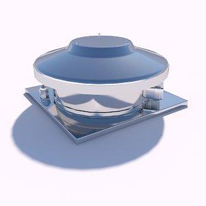 fan roof model