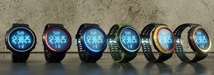3D hand watch pack
