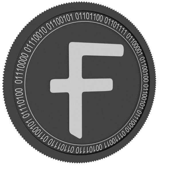 3D flexacoin black coin