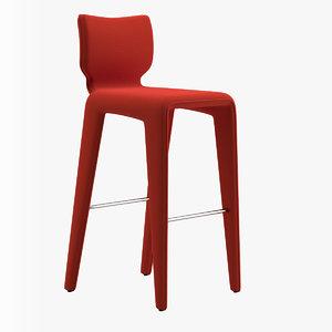 chabada footstool daniel rode 3D model