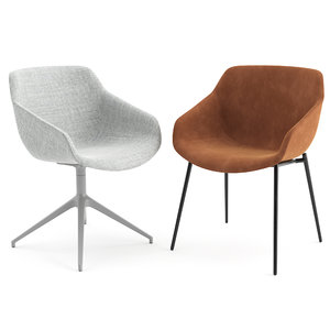 chairs vienna boconcept 3D model