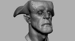 3D fantasy creature model