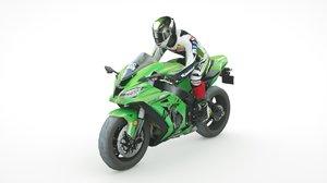 2019 kawasaki ninja zx-10rr 3D