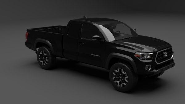 3D toyota tacoma model