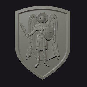 archangel michael 3D model