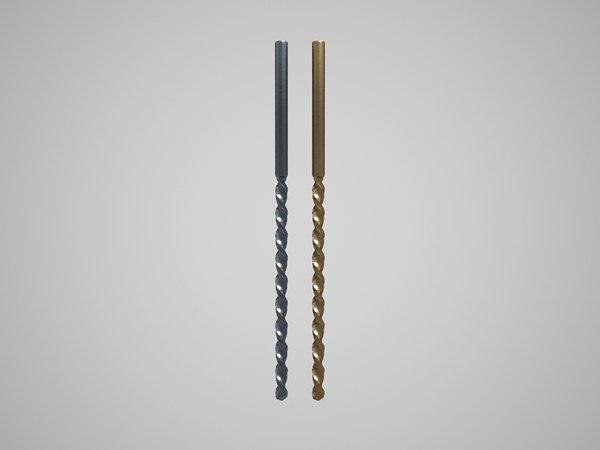3D drills model