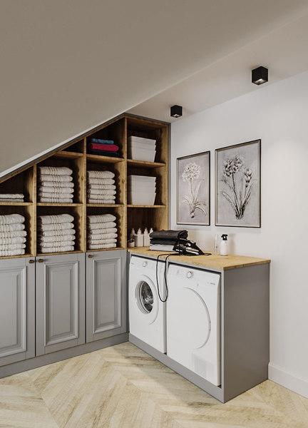 wardrobe interior 3D