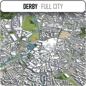 3D derby surrounding -