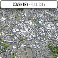 3D coventry surrounding -