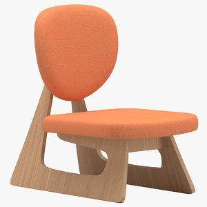 3D chair 68 model