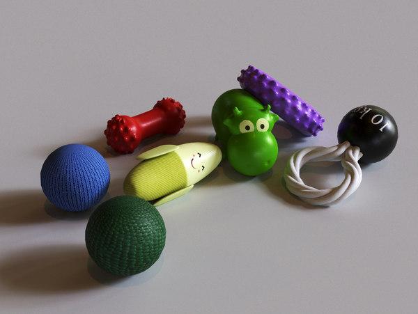 dog toys model