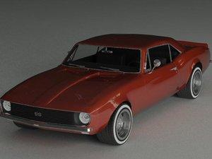 camaro 1967 3D