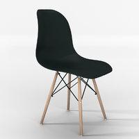 chair due-home nordik 3D model