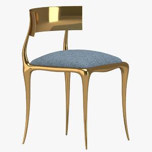 3D chair 101 model