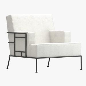 chair 106 3D model