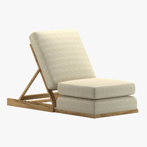 3D model chair 116