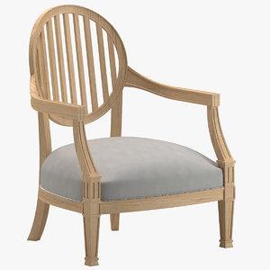 chair 98 3D