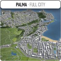 palma surrounding - 3D model