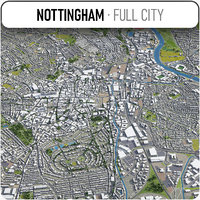 3D nottingham surrounding -