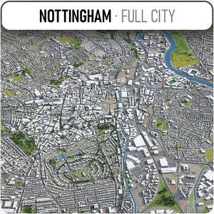 3D nottingham surrounding -