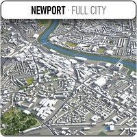newport surrounding - 3D