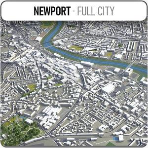 newport surrounding - 3D