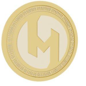 3D society gold coin