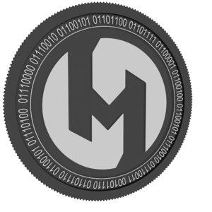 3D hi mutual black coin