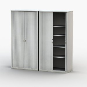 document cabinet 3D model