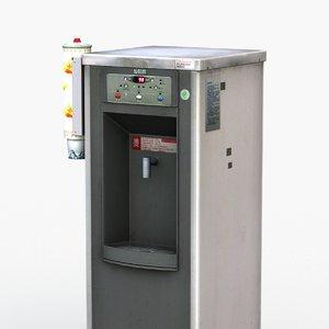 water dispenser 3D