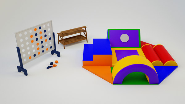 kids play items 3D model