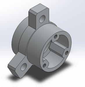3D gokart hub model