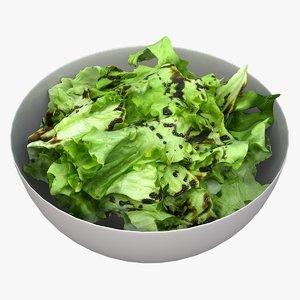 green salad 3D