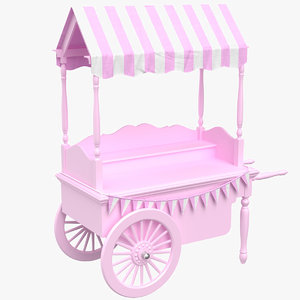 real candy cart model