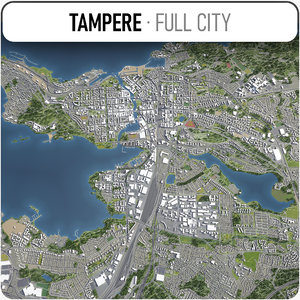 3D tampere surrounding -