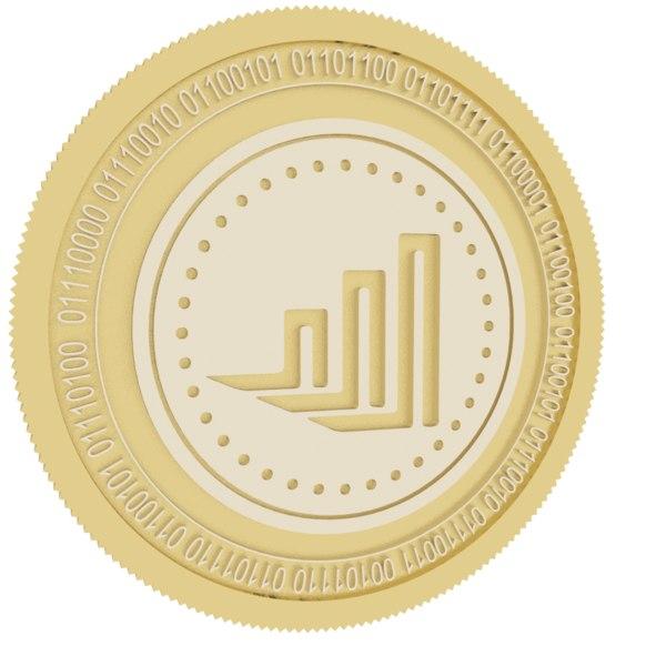 3D idex gold coin