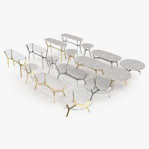 elke coffee table 3D