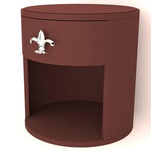 nightstand furniture 3D model