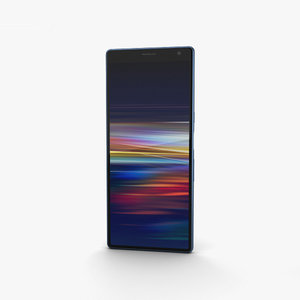 sony 10 xperia 3D model