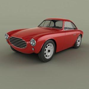 3D moretti 750 gran sport model