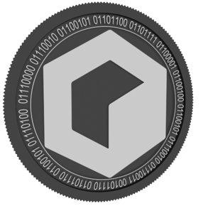 3D model invictus black coin fund