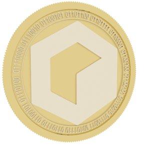 3D model invictus gold coin fund