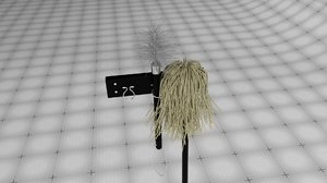 broom mop 3D model