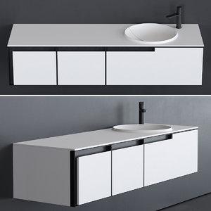 breccia washbasin designers 3D model