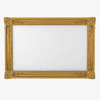 Baroque Picture Frame 14