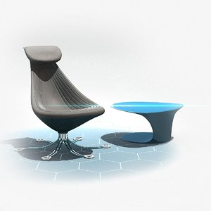 future chair 3D model
