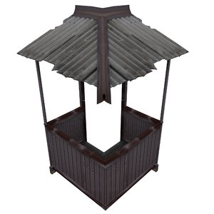 balcony metais 01 10 3D model