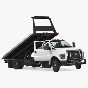 f650 tow truck rigged model