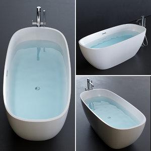 3D meg11 bathtub model